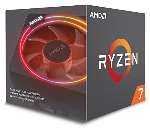 Processeur AMD Ryzen 7 2700X - Socket AM4 + Refroidisseur Wraith Prism LED (Frais import inclus)