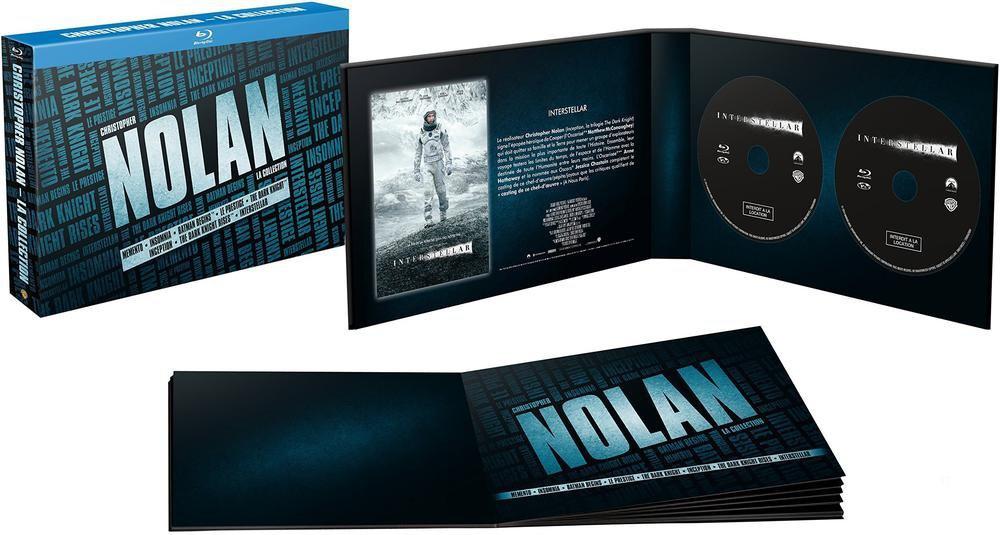 [Membres Premium] Coffret blu-ray Christopher Nolan, l'intégrale : Memento + Insomnia + Le prestige + Trilogie Batman + Inception + Interstellar