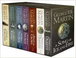 [Membres Premium Amazon.co.uk] Intégrale Livres Game of Thrones en Anglais