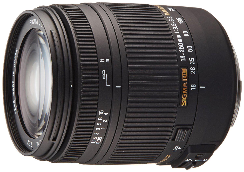 [Membres Premium] Objectif Sigma 18-250 F3,5-6,3 Canon/Nikon (via ODR 40€)