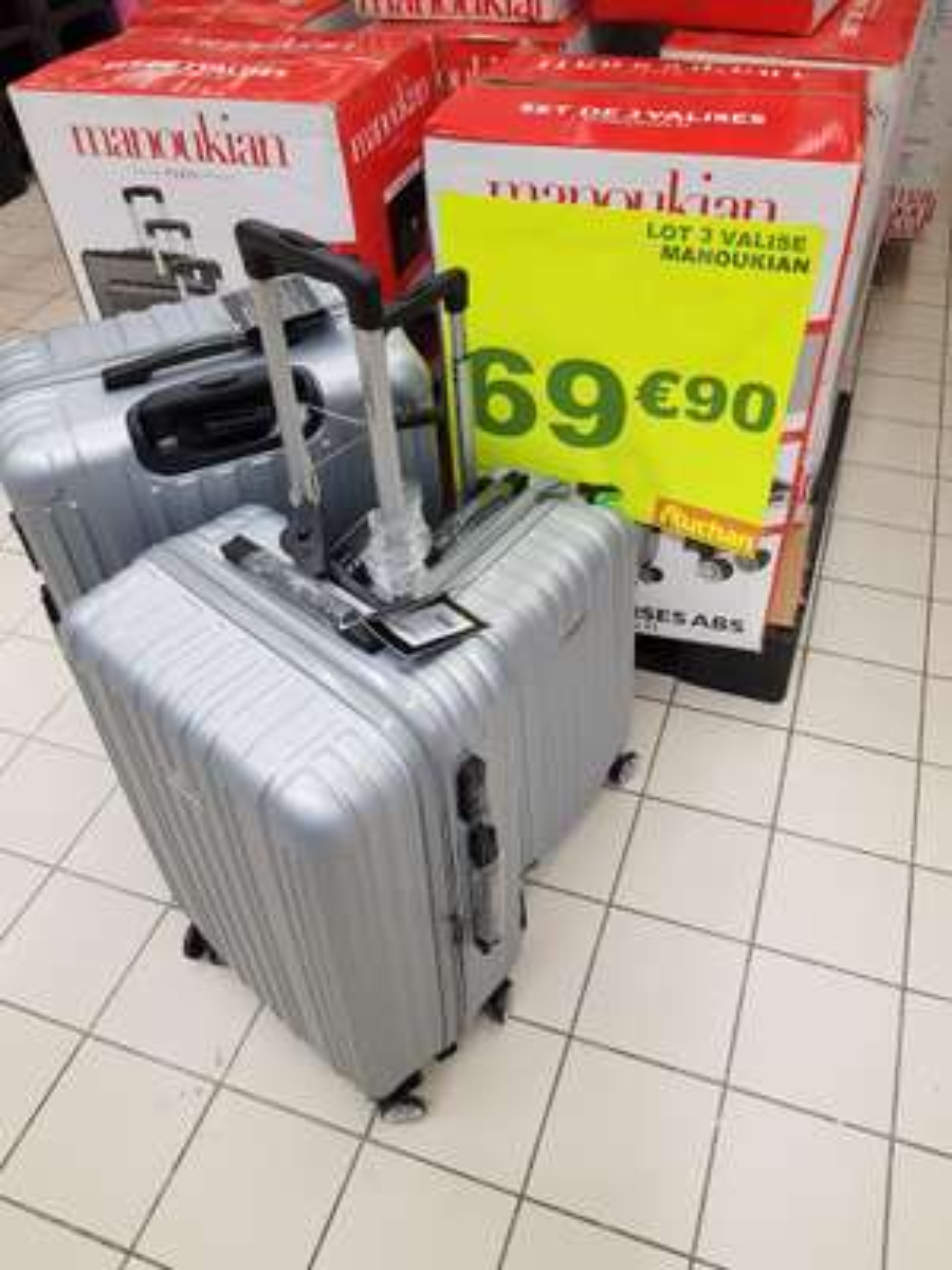 Set 3 valises abs Manoukian - Kremlin Bicetre (94)