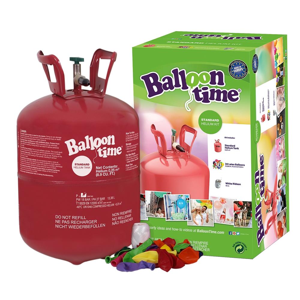 Bouteille d'hélium + 30 ballons