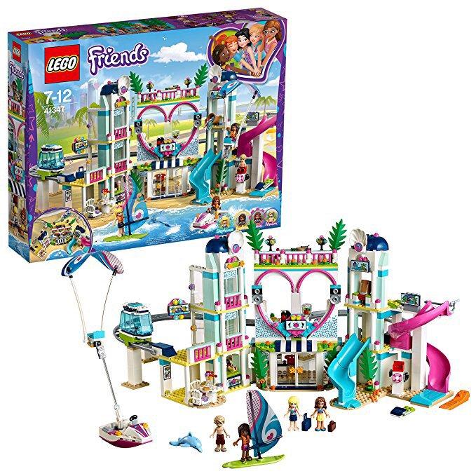 Jeu de Construction Lego Friends - Le complexe touristique d'Heartlake City n°41347