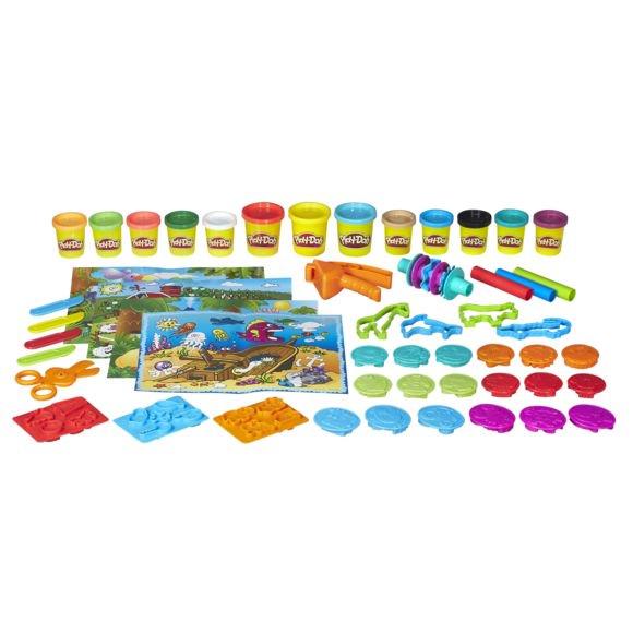 Jouet Play-Doh Baril des Aventures au Zoo
