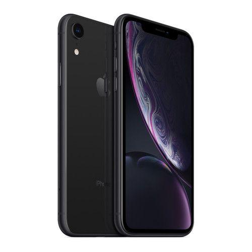 """Smartphone 6.1""""Apple iPhone XR - 64 Go - Noir (754,31€ avec le code CYBERMONDAY)"""