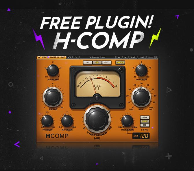 Plugin H-COMP offert - Waves.com