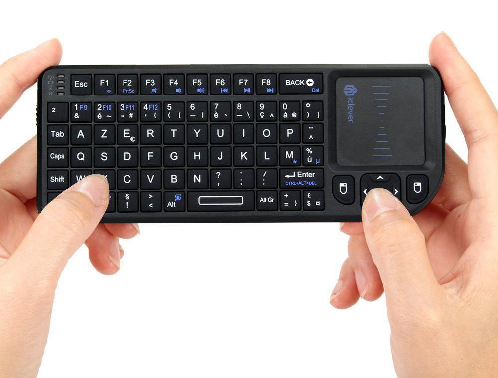 [Membres Premium] Mini clavier sans-fil iClever (pour Raspberry, Smart TV ...)