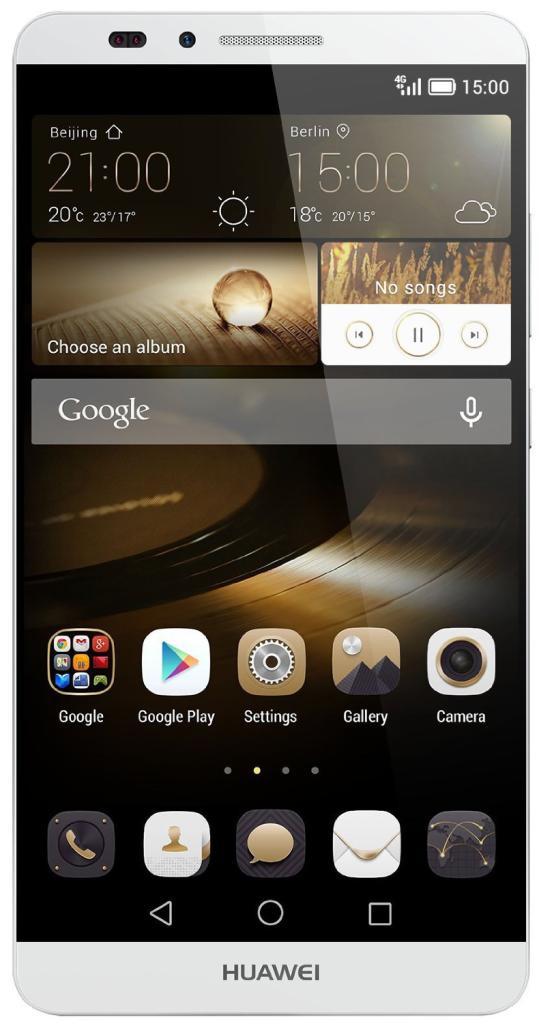 "[Membres Premium] Smartphone 6"" Huawei Ascend Mate 7 4G Argent - 16Go"