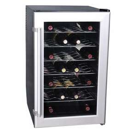 Cave à vin de mise en température La Sommelière  CVD32  - 32 bouteilles, 35 dB, Porte vitrée