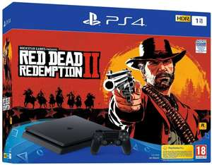 Pack console Sony PS4 Slim (1 To) + Red Dead Redemption 2
