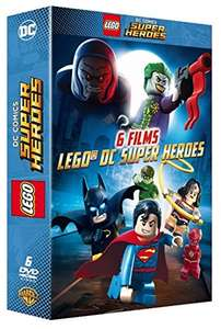 Coffret DVD DC Comics Lego DC Super Heroes - 6 films