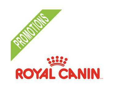 20% de réduction et 10€ offerts sur les croquettes Royal Canin sur une sélection d'articles