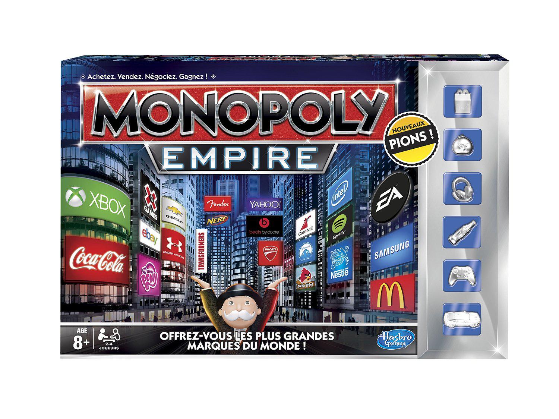 [Membres Premium] : Jeu de plateau Monopoly Empire Hasbro / 12.32€ après ODR