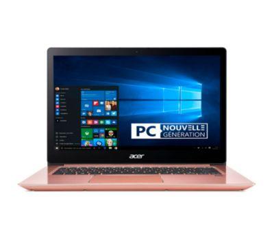 PC portable 14 full HD Acer Swift SF314-54-53DY (i5-8250U, 4 Go de RAM, 128 Go en SSD) + abonnement d'un an à Office 365