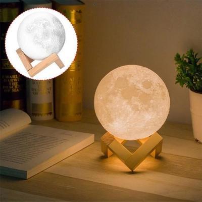 Lampe lune féérique - 18CM (vendeur tiers)