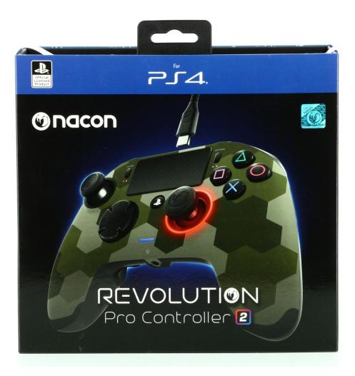Manette Officielle Nacon Revolution 2 camo vert