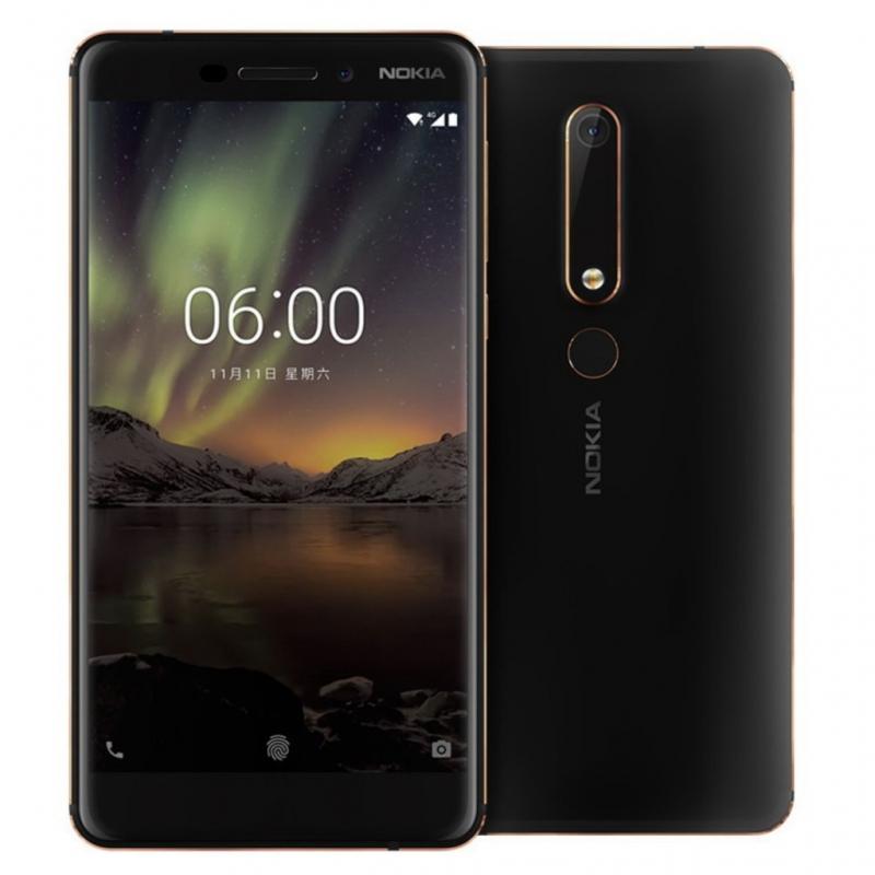 """Smartphone 5.5"""" Nokia 6 (2018) - 64 Go"""