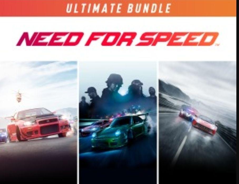 Lot Need for Speed Ultimate sur PS4 (Dématérialisé)