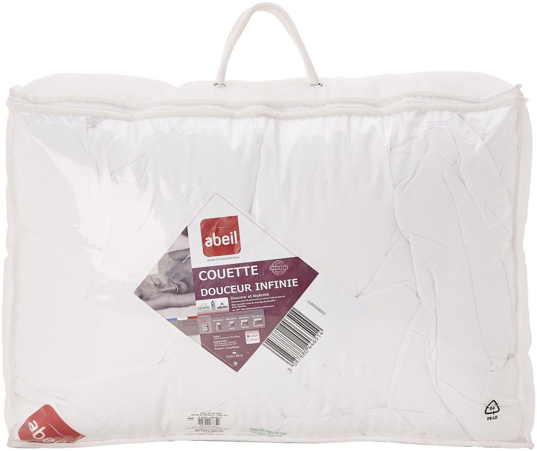 [Membres Premium] Couette Abeil 200 g/m² Polyester Blanc différentes tailles