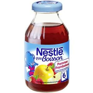 Petite boisson à base de fruits Nestlé gratuite