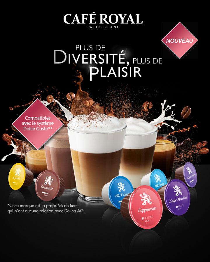 Capsules Café Royal  Dolce Gusto 100% remboursées (via shopmium)