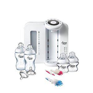 [Membres Premium] Tommee tippee Kit Préparateur de Biberon Blanc/Transparent