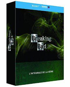 [Membres Premium] Coffret Blu-ray Intégrale Breaking Bad (5 Saisons) + 2 Coffrets Blu-ray ou DVD au choix parmi une sélection