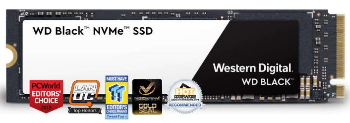 """[Etudiants] SSD Interne 2.5"""" Black NVMe (2018) - 500 Go"""