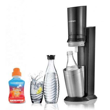 Machine à gazéifier Sodastream Crystal avec bouteille en verre (via ODR de 20€)
