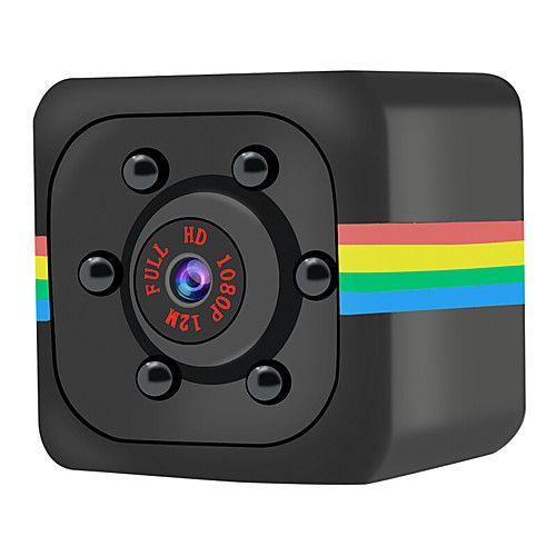 Mini-caméra Quelima SQ11 avec support - 1080p