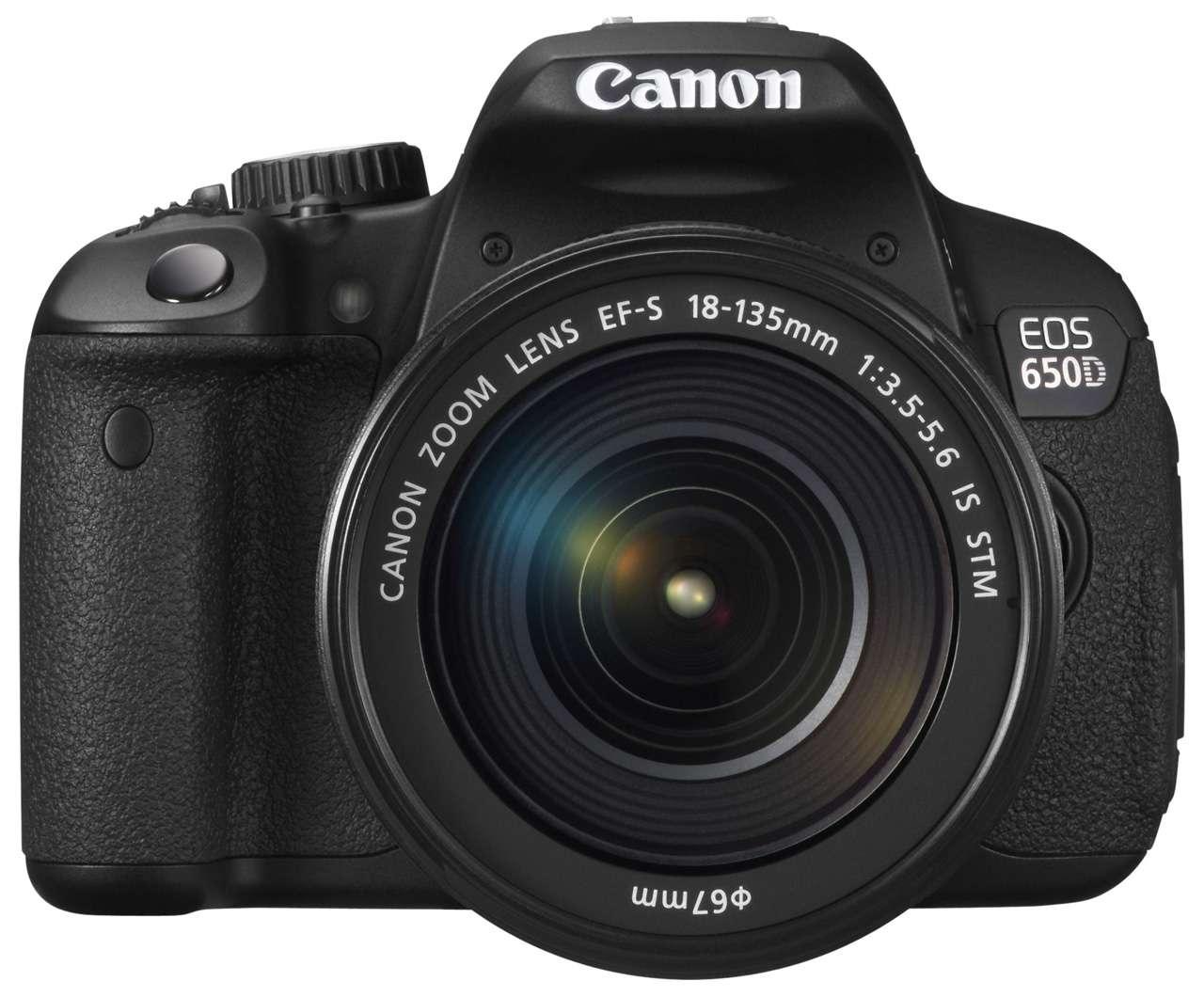 Canon EOS 650D + EF-S 18-55 IS II