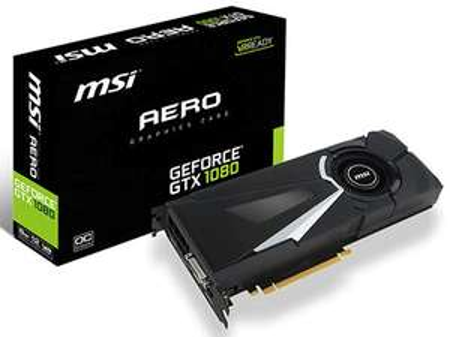 [Clients Privilèges] Carte graphique MSI GeForce GTX 1080 Aero OC - 8 Go