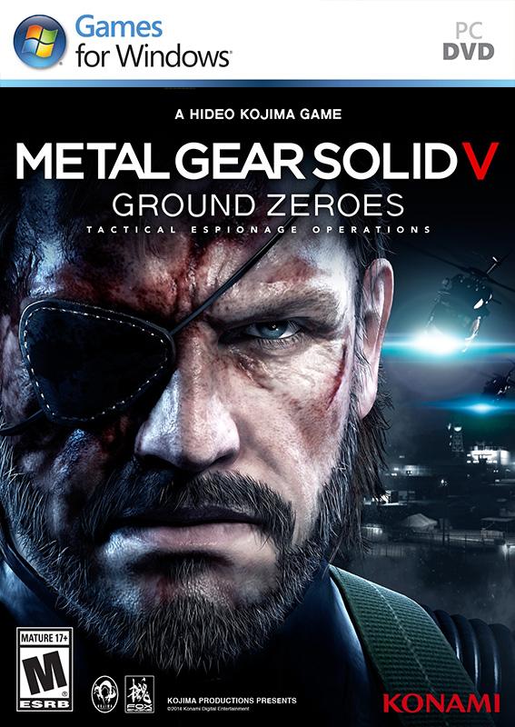 Sélection de jeux PC en boîte à moins de 6€ ou 4€ pour les membres Premium - Ex: Metal Gear Solid Ground Zeroes