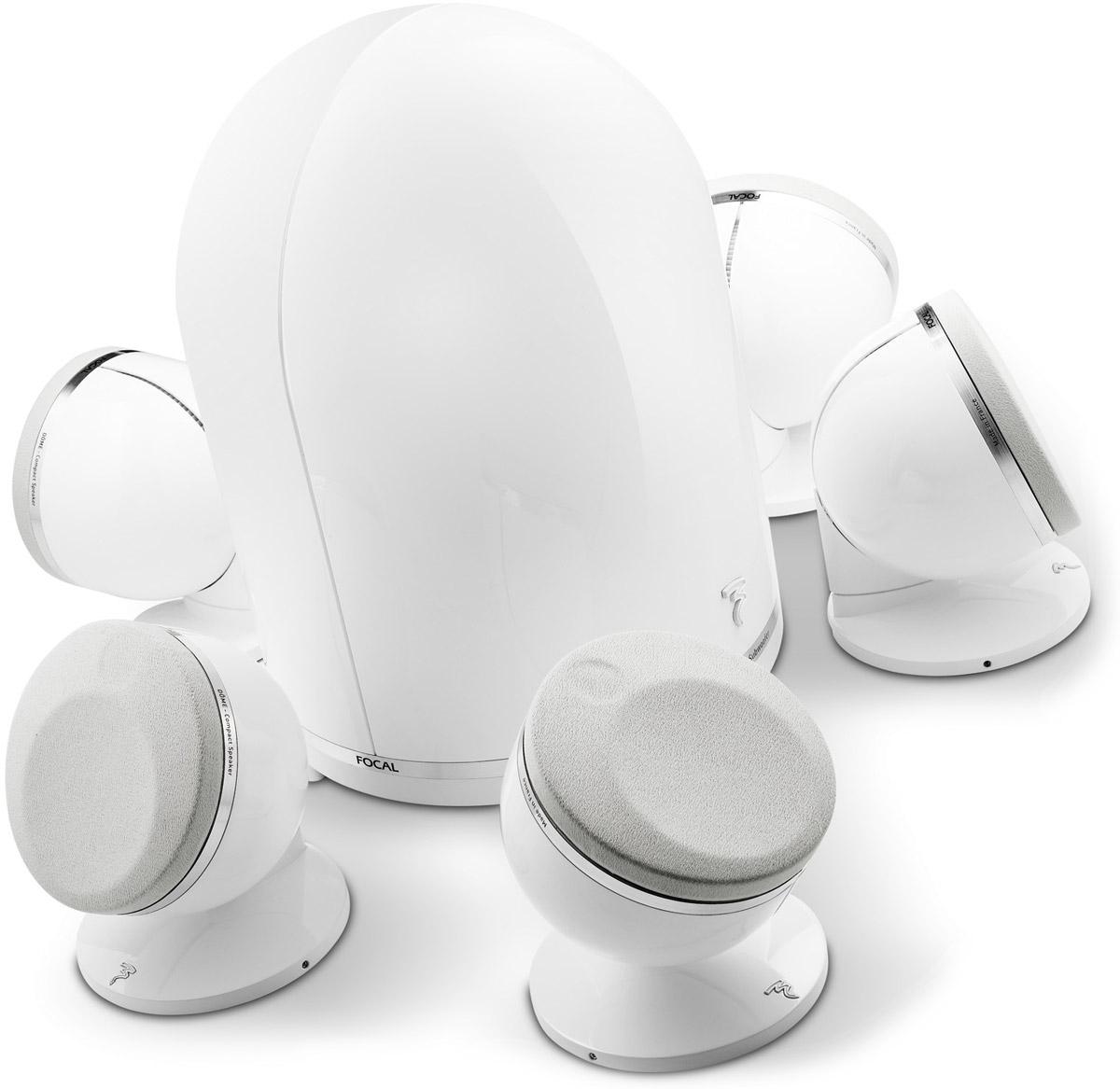 Elément séparé Pack d'enceintes FOCAL Dome 5.1 blanc