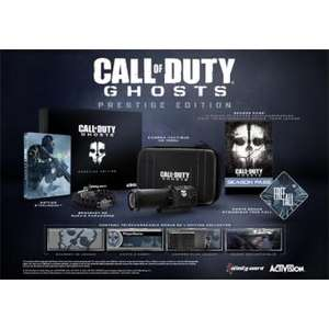 Jeu Call of Duty Ghosts Edition Prestige Xbox 360