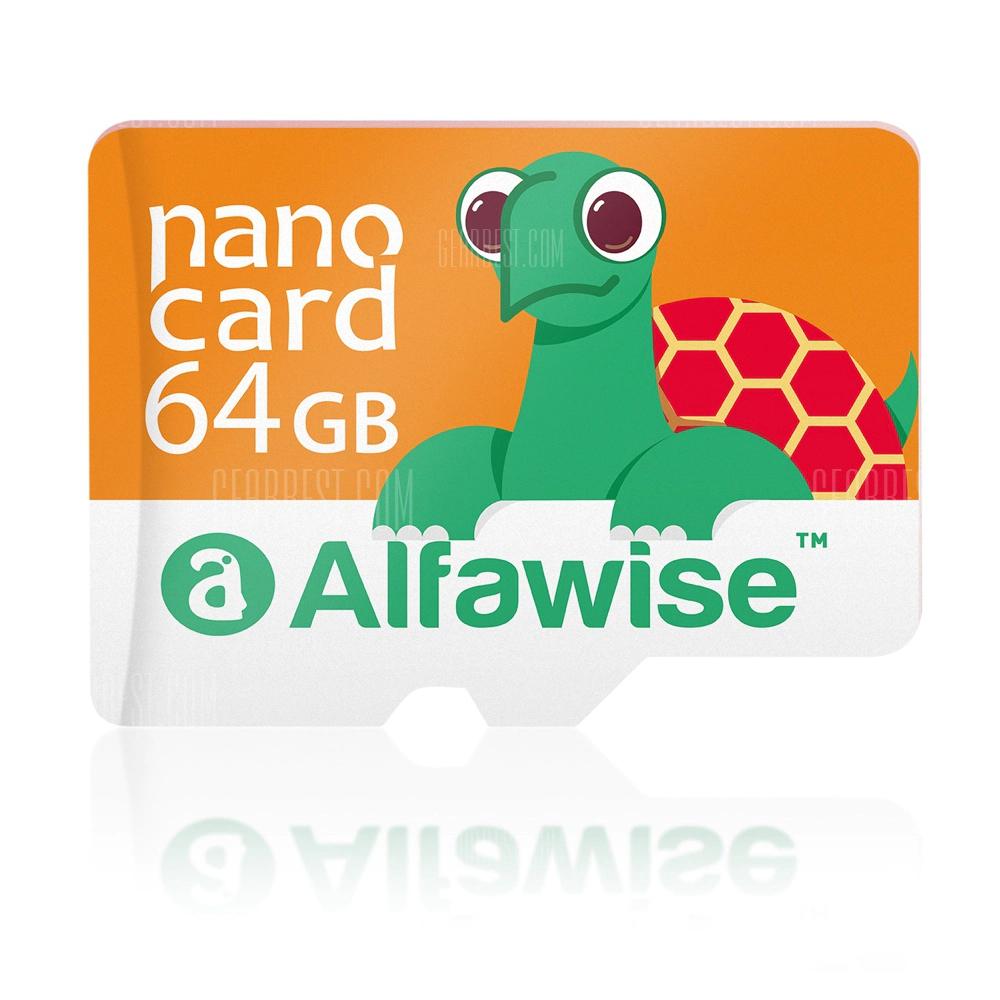 Carte Micro SDXC Alfawise 64Go, UHS-3