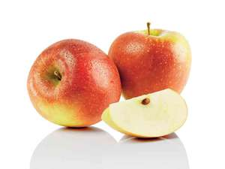 Lot de 3 kilos de pommes bicolores - variétés Braeburn, Elstar ou Gala