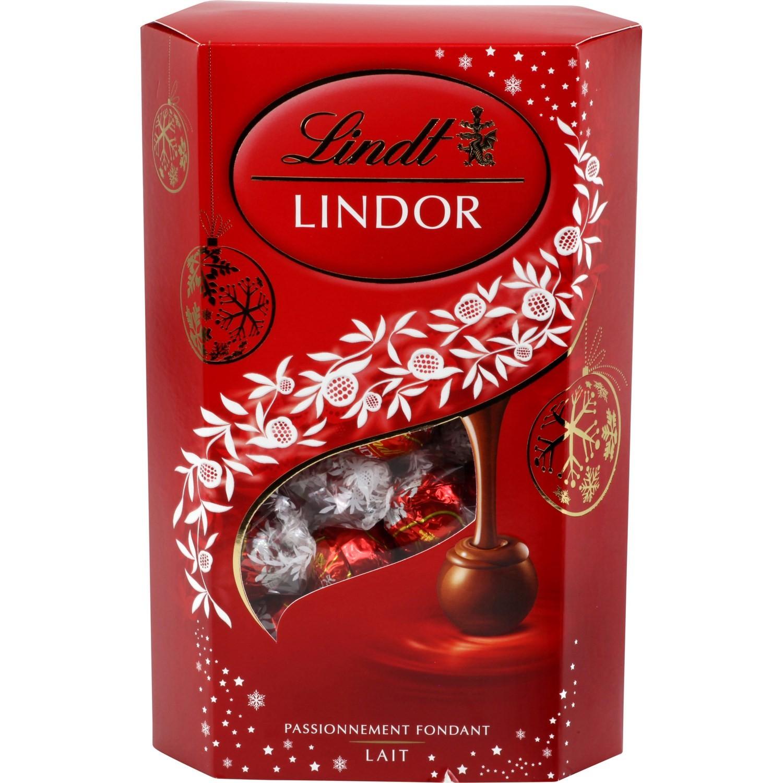 Lot de 2 boîtes de chocolats Lindt achetées = la 3ème offerte (la moins chère)