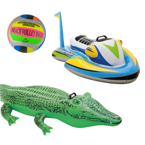 Sélection de jouets d'été en promo  - Ex: Crocodile gonflable ou Jetski gonflable