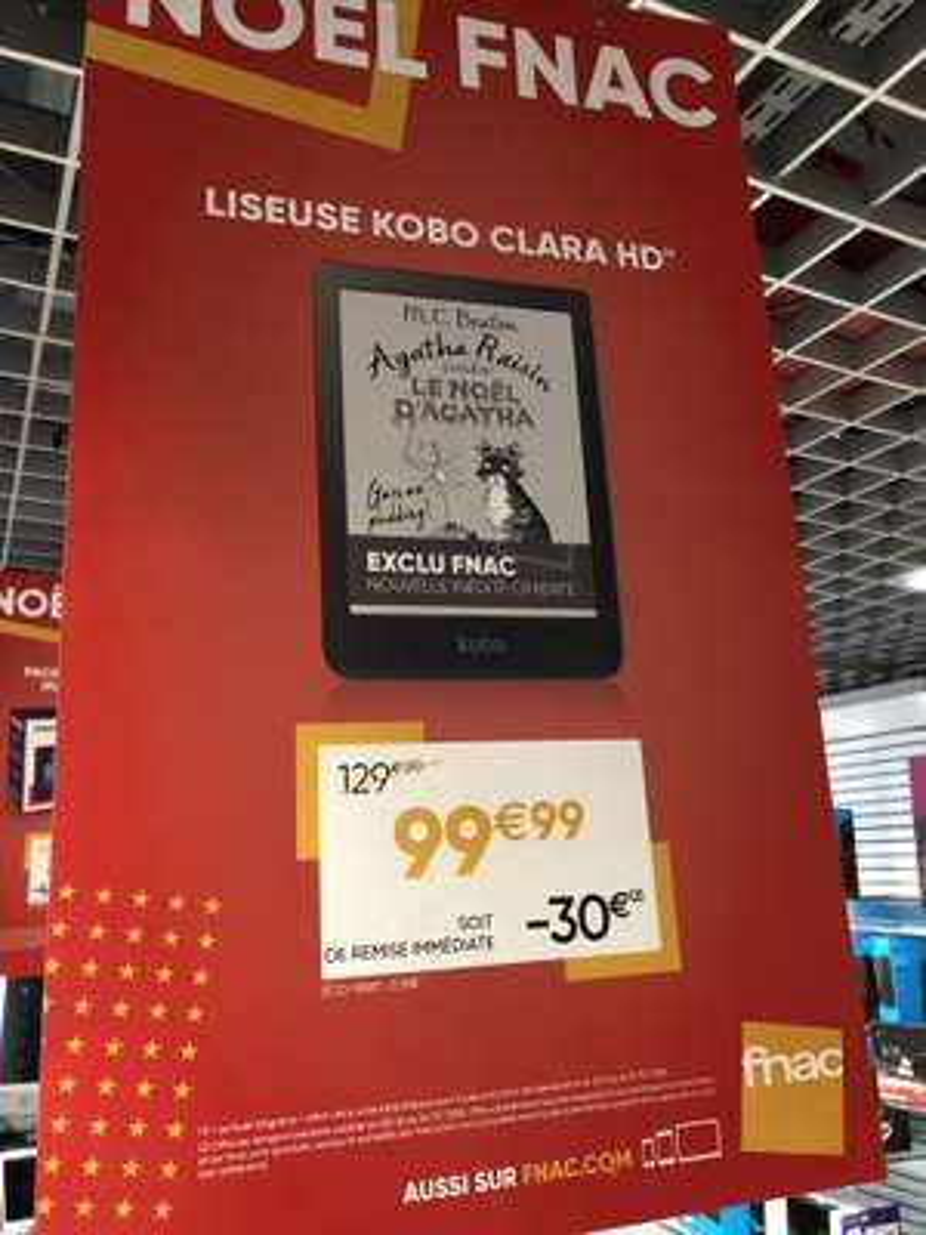 "Liseuse numérique tactile 6"" Kobo Clara - HD, 8Go"