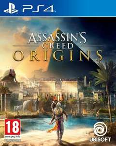 Assassin's Creed Origins sur PS4 et Xbox One (24,98€ avec welkom2658)