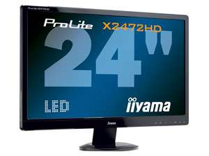 Ecran 24'' LED Full HD IIYAMA PLX2472HD-B1 avec paiement Buyster