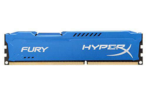 Mémoire RAM HyperX Fury 8 Go 1600 MHZ DDR3 Non-ECC CL10 DIMM