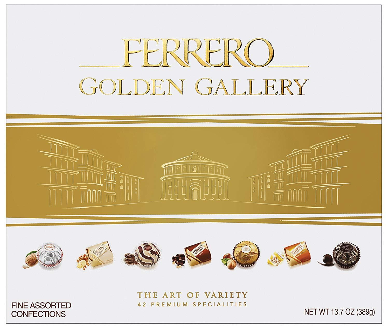 1 Boite de chocolat Ferrero Golden Gallery - 34 pièces, 315g (via 5.45€ sur la carte de fidélité)