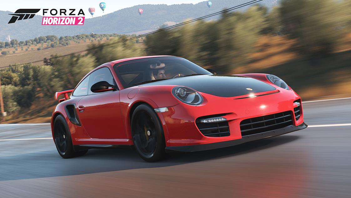 DLC Porsche Bonus Pack gratuit pour Forza Horizon 2 sur Xbox One