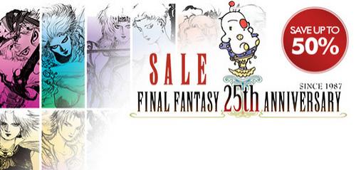 Jeux Final Fantasy à -50% à partir de mercredi (PS3, PSP, PS Vita)