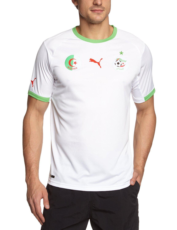 Maillot de foot Puma Algérie domicile 2014
