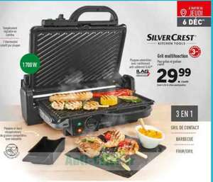 Grill multifonctions Silvercrest - 1700W