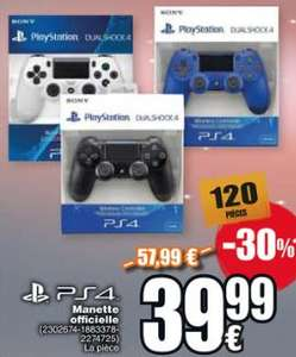 Manette PS4 DualShock: différents coloris (Cora Foetz - Frontaliers Luxembourg)