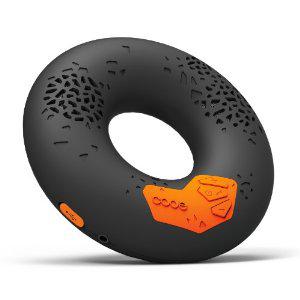 Enceinte stéréo portable sans fil Code Donut Bluetooth / NFC - Noire, Blanche ou Rose